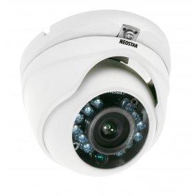 NEOSTAR Vandalensichere Infrarot Dome-Kamera mit 720TVL, 3.6mm, Nachtsicht 15m, 12V DC
