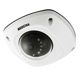 NEOSTAR Vandalensichere Infrarot Dome-Kamera mit 700TVL, 3.6mm, Nachtsicht 20m, Mikrofon, 12V DC