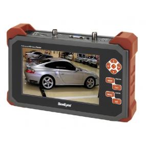 "7"" Testmonitor für HD-SDI, EX-SDI, Analog HD, HD-CVI, HD-TVI, Analog, RS-485, Audio, Akku"