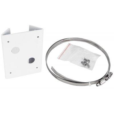 Mastmontagehalterung für HD-BNXX, A-BNXX und IP-BNXX Kameras, Weiß