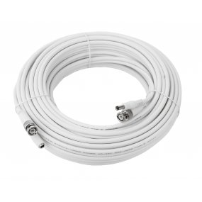 20 Meter Kombikabel (Video/Strom) für Analog / HD-SDI / HD-TVI / Analog HD, RG59, 75 Ohm