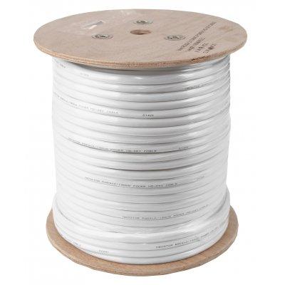 100 Meter Kombikabel (Video/Strom) für Analog / HD-SDI / HD-TVI / Analog HD, RG59, 75 Ohm