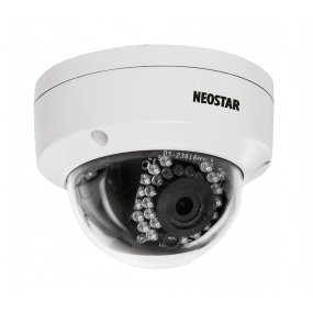 NEOSTAR 3.0MP Infrarot IP Dome-Kamera, 4mm, 2048x1536p, Nachtsicht 20m, H.264, PoE/12V DC, IP66