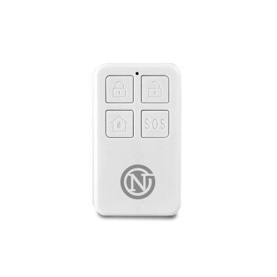 NeoGuard KeyFob - Funk-Fernbedienung mit Tasten für Scharf, Unscharf, Teilscharf / Zuhause und Sofortalarm, Batteriebetrieb
