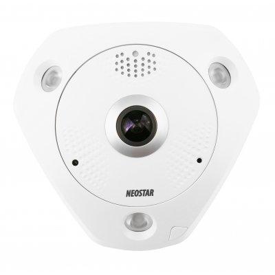 NEOSTAR 6.0MP, 360° Panorama IP Dome-Kamera, 3072x2048p, Nachtsicht 15m, D-WDR, H.264, VCA, PoE/12V DC, IP66