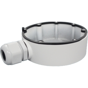 Junction Box (111 mm) für die NEOSTAR IP und HD-TVI mini Dome-Kameras