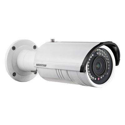 NEOSTAR 4.0MP Infrarot IP Außenkamera, 2.7-12mm Motorzoom, 2688x1520p, Nachtsicht 30m, WDR 120dB, H.264, VCA, PoE/12V DC, IP66