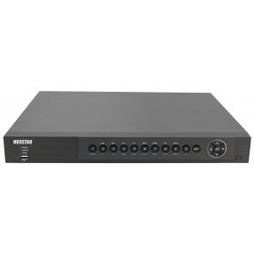 NEOSTAR 8-Kanal Hybrid HD-TVI/AHD + IP Videorekorder, 200B/S bei 1080p, H.264, 2048 x 1536p, Audio, Dual-Stream, CMS, 12V DC