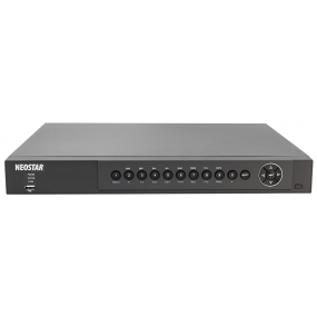NEOSTAR 16-Kanal Hybrid HD-TVI/AHD + IP Videorekorder, 400B/S bei 1080p, H.264, 3MP / 4MP, Audio, Dual-Stream, CMS, 12V DC