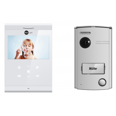 Neolight 2 Draht Video Türsprechanlage Mit 43 Ultra Slim Monitor