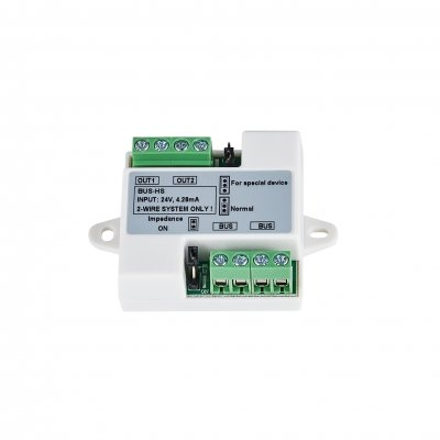 BALTER Signalverteiler für 2 Monitore oder 2 Türstationen, 2-Draht BUS Technologie