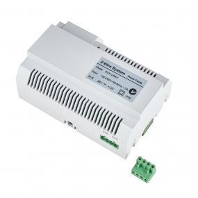 BALTER Hauptstromverteiler, 2-Draht BUS Technologie, Stromversorgung für bis zu 6 Monitore und 2 Türstationen