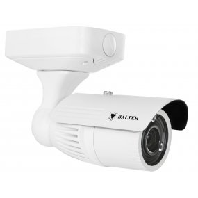 BALTER 4.0MP Infrarot IP Kamera, 2.8-12mm Motorzoom, 2688x1520p, Nachtsicht 40m, WDR, H.265, PoE/12V DC, IP66