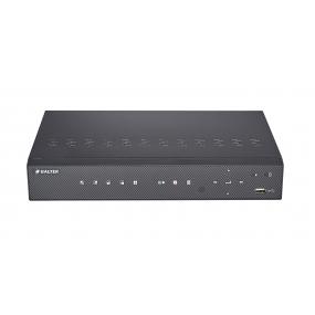 BALTER 4-Kanal PoE Netzwerk Videorekorder, 2592x1944p, H.264, P2P, Intelligente Suche, Tripple-Stream, Balter CMS, HDMI, 48V DC